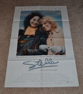 Original One Sheet Movie Poster 1sheet Bette Midler John Erman