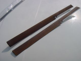 OE 2 LH Wood Front Door Trim BMW 3 0S bav 3 0SI Sedan