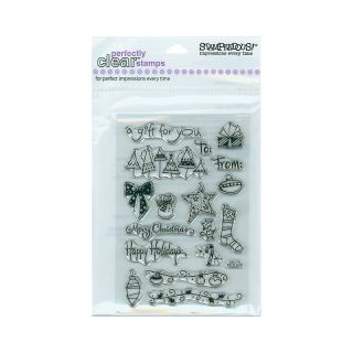 106 1358 scrapbooking stampendous perfectly clear stamp set tiny