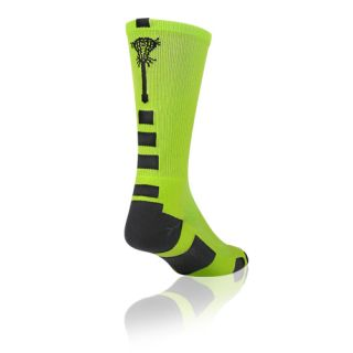 Midline Elite Socks Neon Green Black Medium proDRI Fabric BNIB
