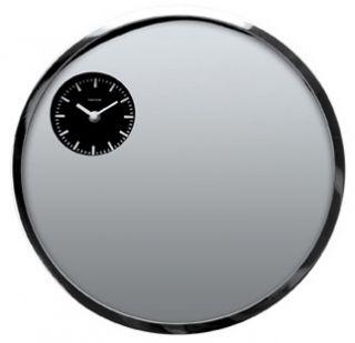 Karlsson Silver Mirror Face Wall Clock 15Dia
