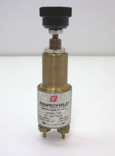 fairchild mini brass regulator 708