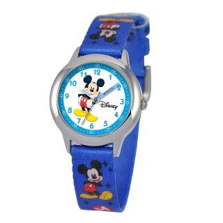 111 6247 disney disney mickey mouse kid s time teacher watch blue