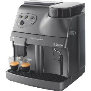 Vienna Plus Automatic Espresso Coffee Machine R19737 21 Graphite New