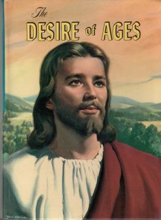 1964 Desire of Ages Ellen G White Illustrated The Life of Jesus Christ