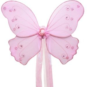 Fairy Princess Butterfly Fairy Pixie Wings Costume Girl