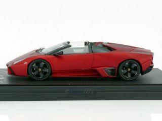 Mr Models Lamborghini Reventon Roadster Matt Red Pearl