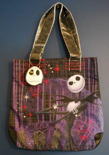 New  Jack Skellington Pink Skulls Tote Bag