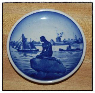 Royal Copenhagen Langelinie Blue Mini Plate Plaquette