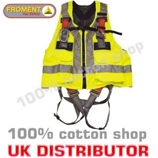 Froment Safety Fall Arrest Harness Full Body HA544 Larg