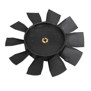 Flex A Lite Electric Fan Blade Replacement Plastic Black 8 50