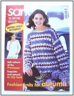 KNITTING 31 Patterns Cables Fair isle Lace Sweaters Vests ++