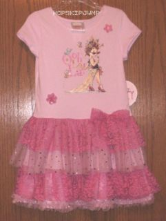 Fancy Nancy Ooh La La Ruffled Dress Size 6