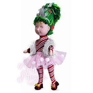 Madame Alexander Fancy Nancy Snowflake Cloth dolll, 18 NEW