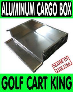 Fairplay Golf Cart Aluminum Cargo Bed Utility Box