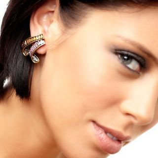 Heidi Daus Unforgettable Crystal Accented Earrings
