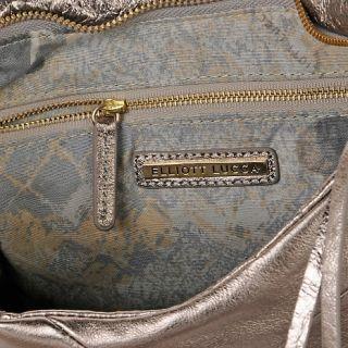 Elliott Lucca Navarre Metallic Leather Medium Bucket Bag at