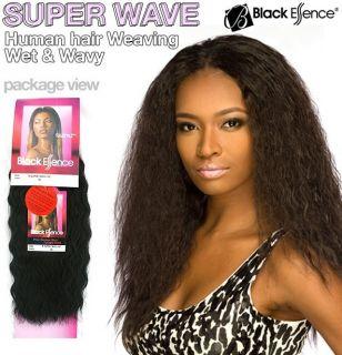 Black Essence Super Wave 10 Premium Human Hair Weave