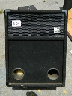 Electro Voice 18 inch Subwoofer Speaker Cabinet Empty 18 Sub Cab EV