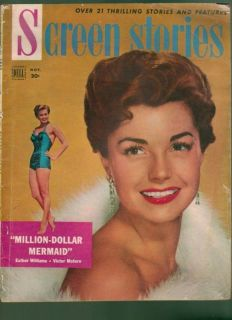Screen Stories Magazine November 1952 Esther Williams