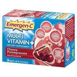 Emergen C Multi Vitamin Plus Drink Mix Cherry Pom