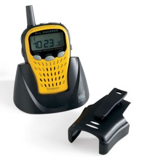 This Emergency Portable Weather Radio provides emergency alerts while