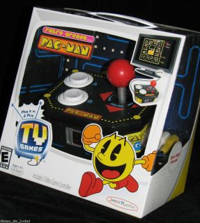 MAN Retro Arcade 12 Games TV Plug Play Family FUN No system needed NIB