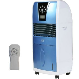 Evaporative Air Swamp Cooler Ionizer Conditioner, Compact Portable SF