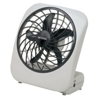 Cool Battery Powered Fan Personal Desk Fan 5 Dia Factory New