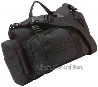 Black EDC Multi Purpose Bag Ammo Gear Shooting Accessory Bag Shoulder