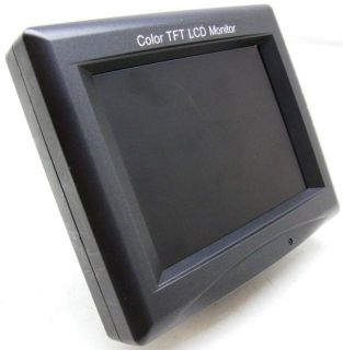 Everfocus 5.6 Color TFT LCD Monitor  W/O Stand  EN200NZ  12VDC