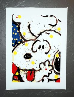 Snoopy Charlie Brown Main Squeeze Canvas Tom Everhart