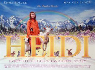 Heidi Emma Bolger Diana Rigg Original 30x40 UK Quad Movie Poster