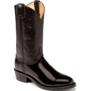 Justin Mens 3040 12 Black Melo Veal High Shinetrooper Boots 9 5B Made