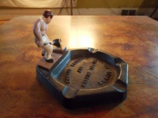 Antique Emmaus PA Foundry Machine Co Cast Iron Figural Ashtray
