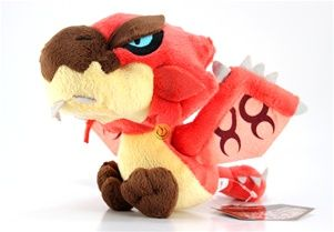 NEW Monster Hunter Plush Doll 2D 8   Rioreus