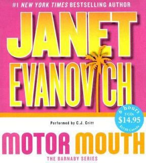 Motor Mouth by Janet Evanovich Audio Book 5 CD Abridged