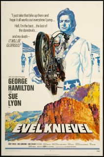 Evel Knievel 1971 Original U s One Sheet Movie Poster