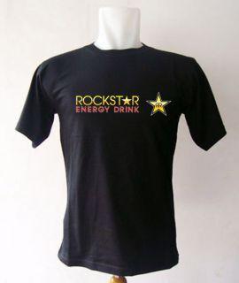 New 2012 Rockstar Energy Drink Logo T Shirt Size s M L XL 2XL 3XL