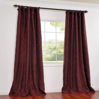 Faux Silk Taffeta 96 in Exclusive Patterned Faux Silk Curtains