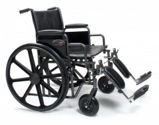 Everest Jennings Traveler HD Wheelchair 20 x 18 DFA