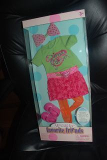 Outfit for Favorite Friends 18 Madame Alexander Dolls New