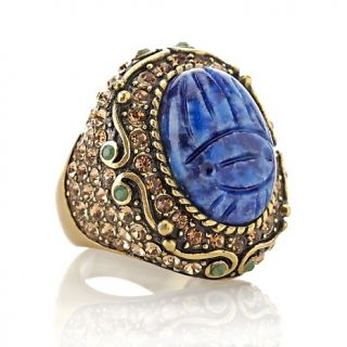 212 883 heidi daus sparkling scarab carved ring note customer pick
