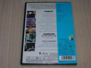 The Police Every Breath You Take Japan DVD Sting SEALED