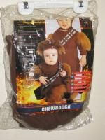 Star Wars Chewbacca Chewie Ewok Rubies Costume Infant Toddler Size 1 2