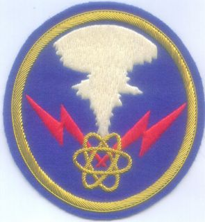 Air Force 509 Bomber Wing Group Enola Gay Nuclear Bomb Patch