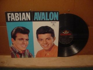 1960 Frankie Avalon Fabian Chancellor Rock N Roll Teen Sound LP