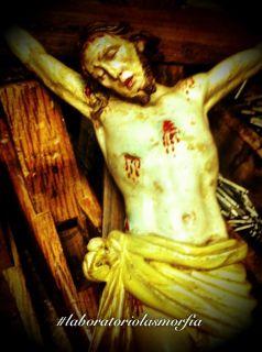 Jesus Legno Wood Original INRI Cross Gesu Fabio Paolella