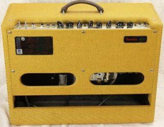fender ltd ed hot rod deluxe 40w guitar tube amplifier amp lacquered