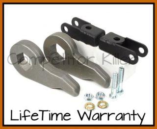 Lift Keys & Shock Extenders 2000 06 Chevy/GMC 6 Lug 4x4 Trucks & SUV